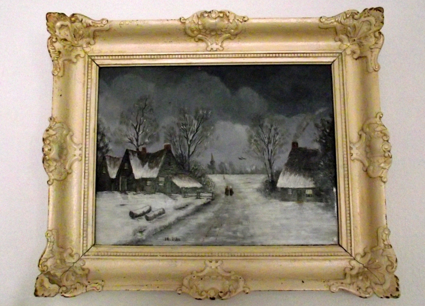 opa's schilderij
